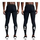 籃球褲高彈男緊身七分7分褲訓練跑步健身夏季透氣運動打底褲  免運直出 交換禮物