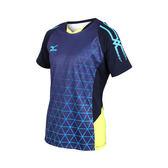 MIZUNO 男羽球短袖T恤  (免運 排球 羽球 訓練 美津濃≡體院≡