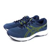 亞瑟士 ASICS GEL-CONTEND 6 運動鞋 慢跑鞋 藍色 男鞋 超寬楦 1011A666-400 no416