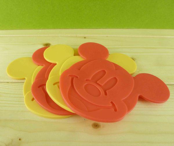 【震撼精品百貨】Micky Mouse_米奇/米妮 ~杯墊-紅黃4入
