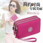 手拿包 手機包 女手包多層韓版零錢包手機袋 潮新款迷你小包包【快速出貨】
