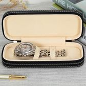 高檔皮質手錶收納盒便攜式旅行款手錶盒機械錶名錶整理收藏盒多色小屋