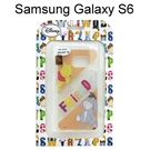 迪士尼透明軟殼 Samsung G9200 Galaxy S6 [最佳拍檔] 維尼&伊兒【Disney正版授權】