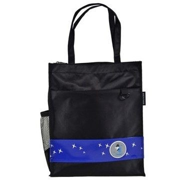 [Caution可欣] 10321 螢火蟲系列之直式手提袋--黑/藍