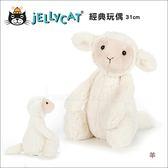 ✿蟲寶寶✿【英國Jellycat】最柔軟的安撫娃娃 經典玩偶(31cm) 羊