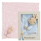 【奇哥】比得兔安撫推車蓋毯禮盒-粉色