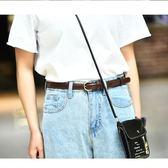 復古簡約百搭女士皮帶針扣韓版韓國學生bf風連衣裙細褲腰帶裝飾潮【奇貨居】