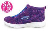 SKECHERS (女) Burst 運動鞋 記憶鞋墊 輕量跑步鞋 高筒 零碼出清 K8293#紫◆OSOME奧森童鞋/小朋友