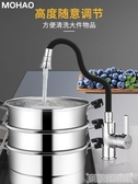 水龍頭 廚房冷熱水龍頭家用可旋轉洗菜盆槽洗衣池陽台萬向混水閥單孔單冷 交換禮物