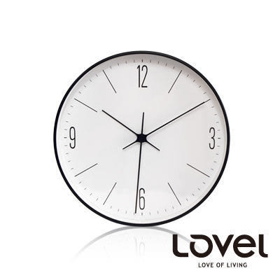 里和Riho LOVEL 20cm簡約俐落數字刻度鋁框壁鐘/掛鐘(C7232) 掛鐘 台灣製造,高品質機芯