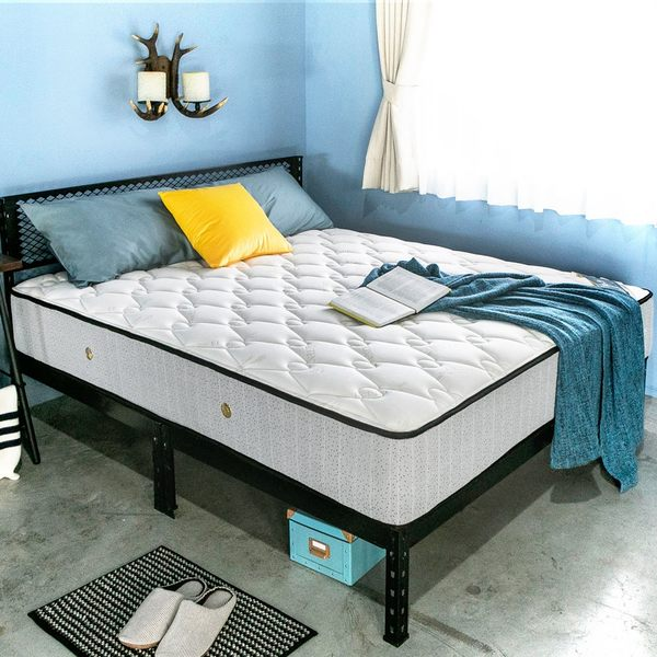活氧系列-天絲美式二線護邊獨立筒床墊-單人3.5尺   / H&D東稻家居