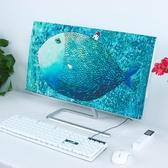 (快出)北歐臺式電腦防塵罩液晶顯示器蓋巾防曬電視蓋布多功能防塵罩創意
