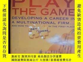 二手書博民逛書店Know罕見the Game,Play the GameY857