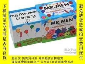 二手書博民逛書店奇先生妙小姐英文原版繪本罕見Mr Men 50 copy Complete Set 50冊盒裝 趣味啟蒙繪本故事