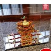 亞克力展示盒 鳳冠高透明亞克力盒子
