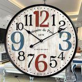 美式復古懷舊客廳大壁時鐘igo「摩登大道」