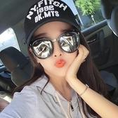 太陽鏡女潮新款圓臉款個性韓國墨鏡偏光眼鏡時尚長臉Mandyc