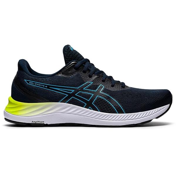 ASICS GEL-EXCITE 8 男鞋 慢跑 寬楦 緩震 透氣 輕量 藍【運動世界】1011B036-401