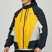 Nike AS M NSW HE WR JKT WVN SIGN男子 黑黃灰 防風 連帽 長袖 外套CJ4359-739