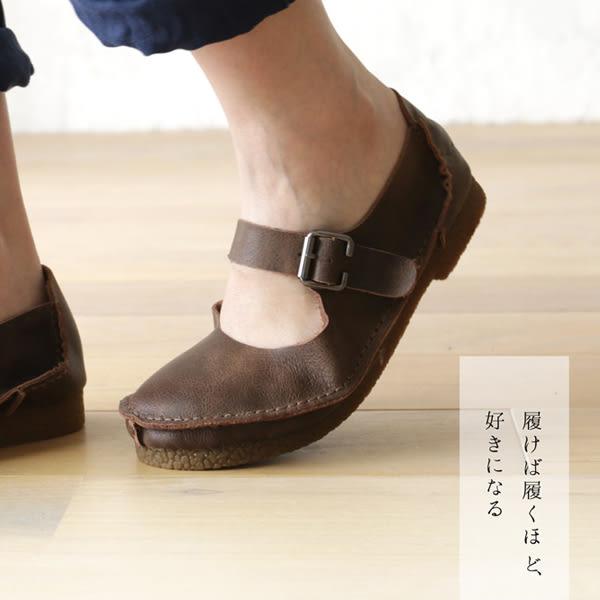 麵包鞋 日森純色復古頭層牛皮-月兒的綺麗莊園 X
