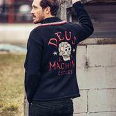 Deus Ex Machina  Trappa Knit Cardigan  針織外套-黑(男/女)