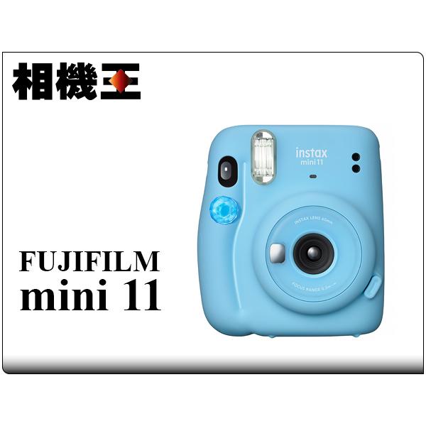 Fujifilm Instax Mini 11 晴空藍 拍立得相機 公司貨