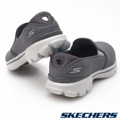 SKECHERS 女鞋  健走系列 GO Walk 3 - 灰 14152CHAR