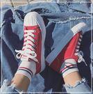 鞋子帆布鞋女韓版百搭學生原宿小白鞋平底黑色板鞋   新年下殺