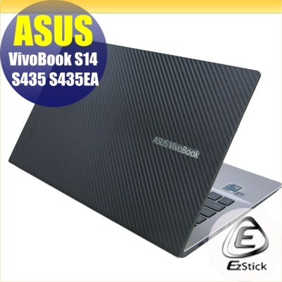 【Ezstick】ASUS S435 S435EA 二代透氣機身保護貼 (含上蓋貼、鍵盤週圍貼、底部貼) DIY 包膜