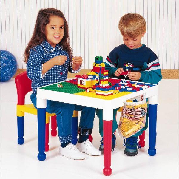 童心 多功能積木桌/遊戲桌(1桌+2椅) (50x50x45)(Block Table)
