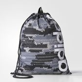 adidas 束口袋 Performance Gym Bag 黑 灰 白 男女款 【PUMP306】 BR5082