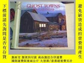 二手書博民逛書店罕見ghost towns 1996 【掛曆】Y11893 gh