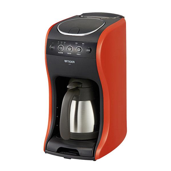 【TIGER虎牌】多機能咖啡機(真空不鏽鋼滴漏式) ACT-B04R