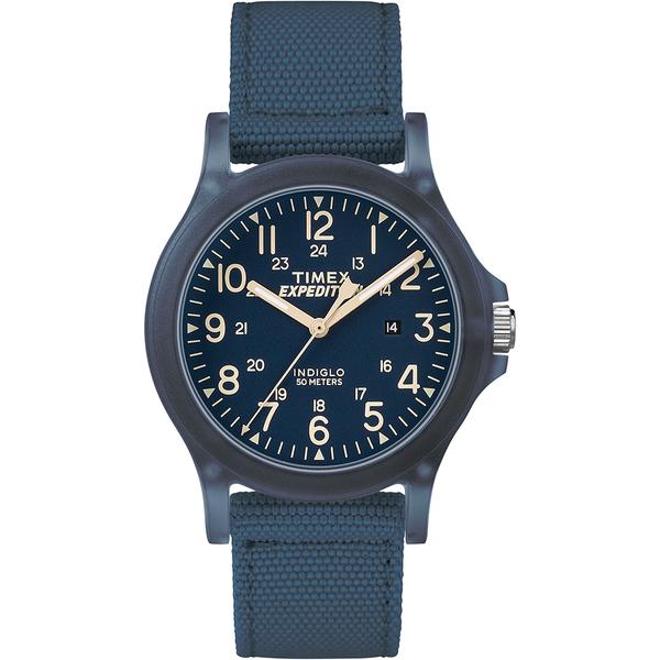 【TIMEX】天美時 遠征系列 探險手錶(藍 TXTW4B09600)