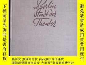 二手書博民逛書店Berlin:罕見Stadt der Theater(德語原版
