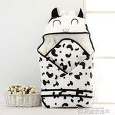 嬰兒包被 新生嬰兒用包被春秋薄款寶寶空調房蓋被純棉抱毯包巾冬季加厚加大 名創家居館