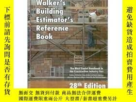 二手書博民逛書店Walkers罕見Building Estimator Reference Book-沃克斯建築估計員參考書Y