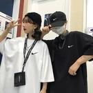 T恤 新款情侶裝純棉短袖t恤男女學生韓版寬鬆原宿風白色上衣ins潮【618特惠】
