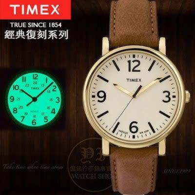 TIMEX美國第一品牌復刻系列簡約時尚腕錶T2P527公司貨/情人節/禮物/聖誕節