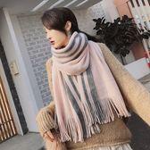 【春季上新】圍巾女冬季新款女士加厚韓版情侶百搭冬天男學生簡約毛線保暖圍脖