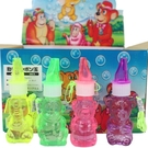 台灣製 口哨泡泡水 哨子泡泡水 動物造型/一瓶入(定15) 台灣製泡泡水 吹泡泡水-美e40004