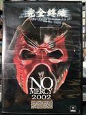 挖寶二手片-P02-417-正版DVD-摔角【NO MERCY完全終結2002】-