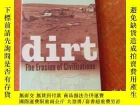 二手書博民逛書店Dirt:罕見The Erosion Of Civilizati