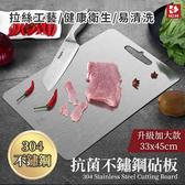 【ICR】升級加大-304不鏽鋼抗菌砧板