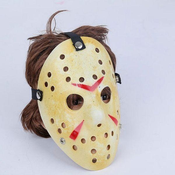 【塔克】傑森殺手 萬聖節 V怪客 奪魂鋸 蝙蝠小丑 杰森殺手 面具/眼罩/面罩 cosplay 變裝