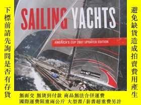 二手書博民逛書店sailing罕見yachts america's cup200