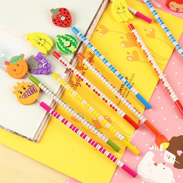 【BlueCat】水果王國鋼琴筆身彈簧鉛筆