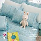 標準雙人床包枕套組 【DR650  Florence 】100%精梳純棉 台灣製 OLIVIA