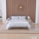 塑料防塵布遮蓋沙發罩家具保護膜床頭蓋巾家用客廳防水遮灰遮塵布 秋季新品