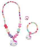 【卡漫城】 Hello Kitty 兒童 飾品組 蝴蝶結 顏色隨機 ㊣版 韓版 手鍊 戒指 項鍊 項鏈 手環 裝扮 首飾